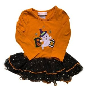 ⭐️ Bonnie Baby Halloween Ghost Tulle Top 18M